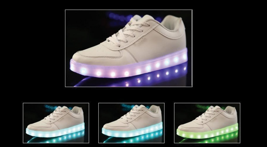 led shoes for womens