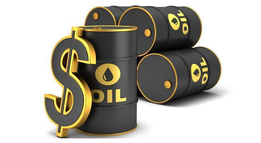 price of US crude oil