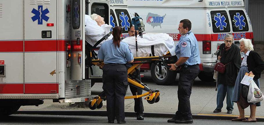 EMT and a Paramedic