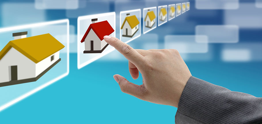 Online real estate business in India