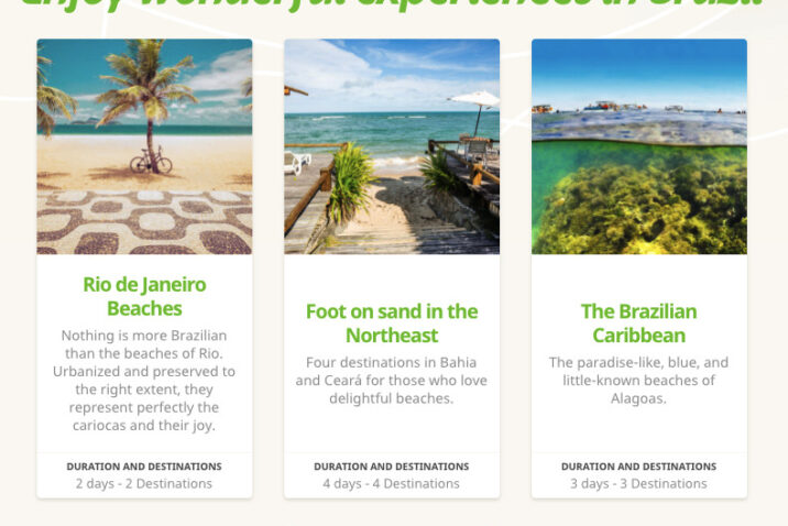 Using the paid & organic report for her travel website