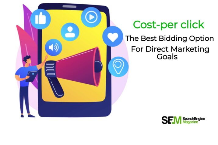 Which bidding option is best suited for an advertiser focused on direct response marketing goals