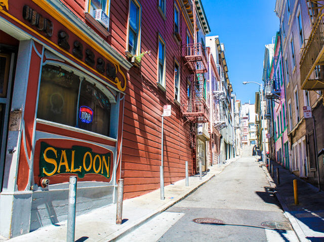 Client has a cupcake shop in a hard-to-find alley in San Francisco. The best way to help people find her