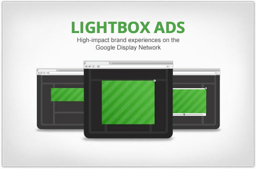 A Ready Lightbox ad can contain