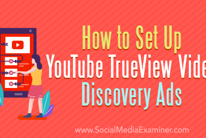 A TrueView Video discovery ad needs to be